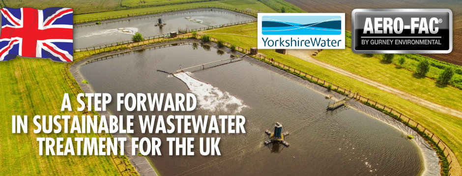 YORKSHIRE WATER START CONSTRUCTION OF LOW OPEX AERO-FAC® WWTP SERVING NEARLY 15,000 PE NEAR WITHERNSEA.