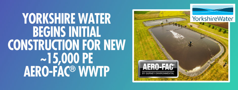 YORKSHIRE WATER STARTS CONSTRUCTION ON NEW SEA OUTFALL FOR NEW AERO-FAC® WWTP SERVING NEARLY 15,000 PE NEAR WITHERNSEA.